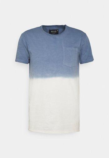 HESS - Print T-shirt - china blue