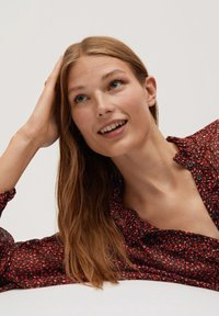 Mango - GARDEN - Button-down blouse - rood - 4