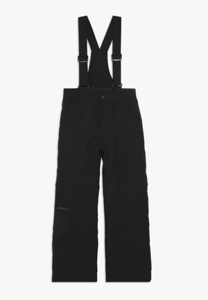 ALENKO JUNIOR - Snow pants - black