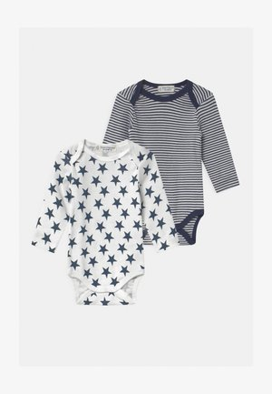 YVON RETRO BABY 2 PACK - Body - dark blue