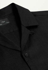 Mango - BOWLING - Shirt - black - 7