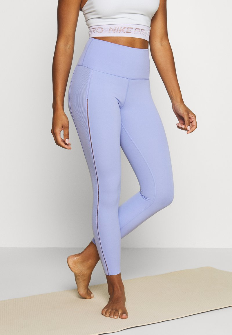 Nike Performance - YOGA LUXE 7/8 - Legging - light thistle/sapphire