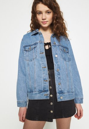 OVERSIZED JACKET - Chaqueta vaquera - blue
