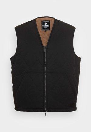 CAMPER VEST - Waistcoat - black