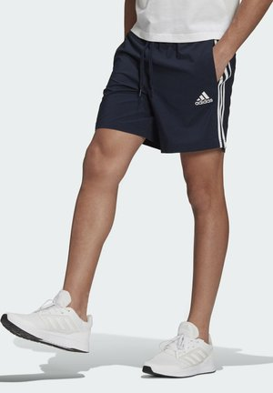 AEROREADY ESSENTIALS CHELSEA 3-STRIPES SHORTS - Träningsshorts - blue