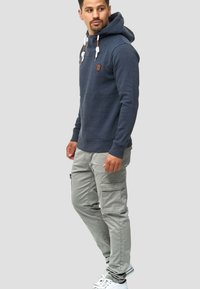INDICODE JEANS - BROADWICK - Cargo trousers - gray - 1