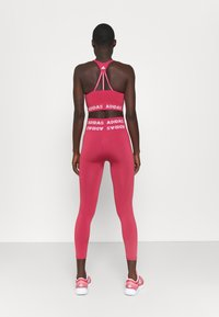 adidas Performance - AEROKNIT 7/8 T TRAINING WORKOUT DESIGNED4TRAINING PRIMEGREEN LEGGINGS FITTED - Tights - berry - 2