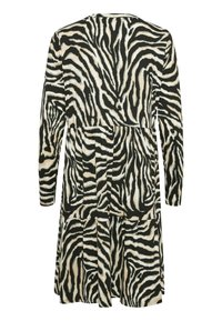 Kaffe - Day dress - black/beige zebra print - 4