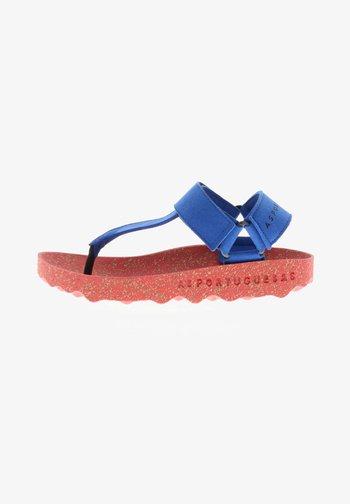 T-bar sandals - blau