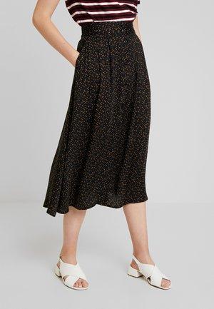 CURABIA SKIRT - Áčková sukně - black