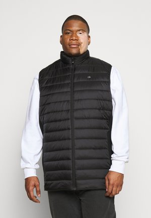 LIGHT WEIGHT SIDE LOGO VEST - Waistcoat - black