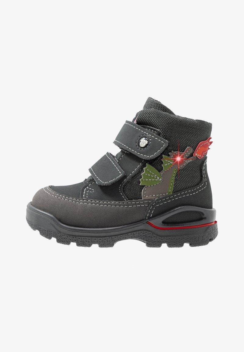 Pepino - BIXI - Baby shoes - grigio/antra
