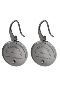 KARL LAGERFELD - RUE ST. GUILLAUME MEDALLION - Náušnice - silver-coloured - 3