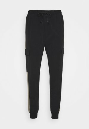 OLIVER - Cargo trousers - black