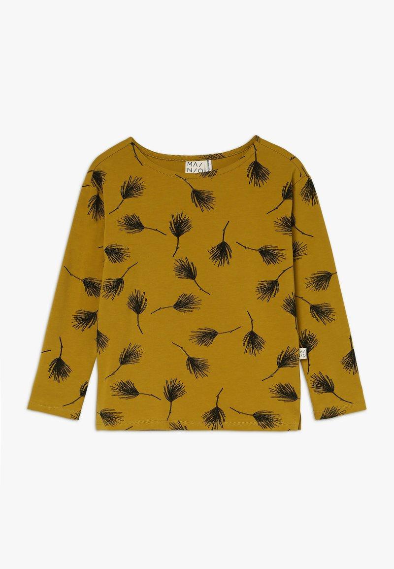 Mainio - PINE SHIRT - Langærmede T-shirts - golden palm