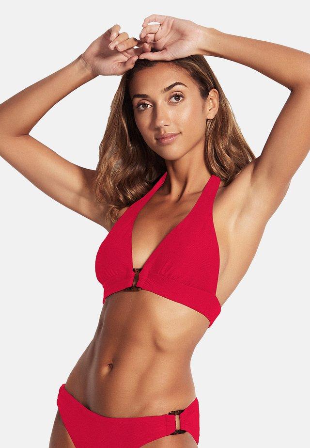 Bikini top - ruby
