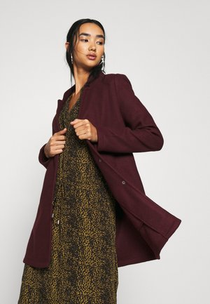 VMBRUSHEDKATRINE JACKET - Short coat - port royale/melange