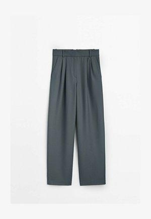 AUS FLANELL  - Spodnie materiałowe - grey