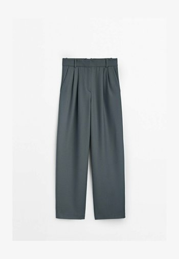AUS FLANELL  - Trousers - grey