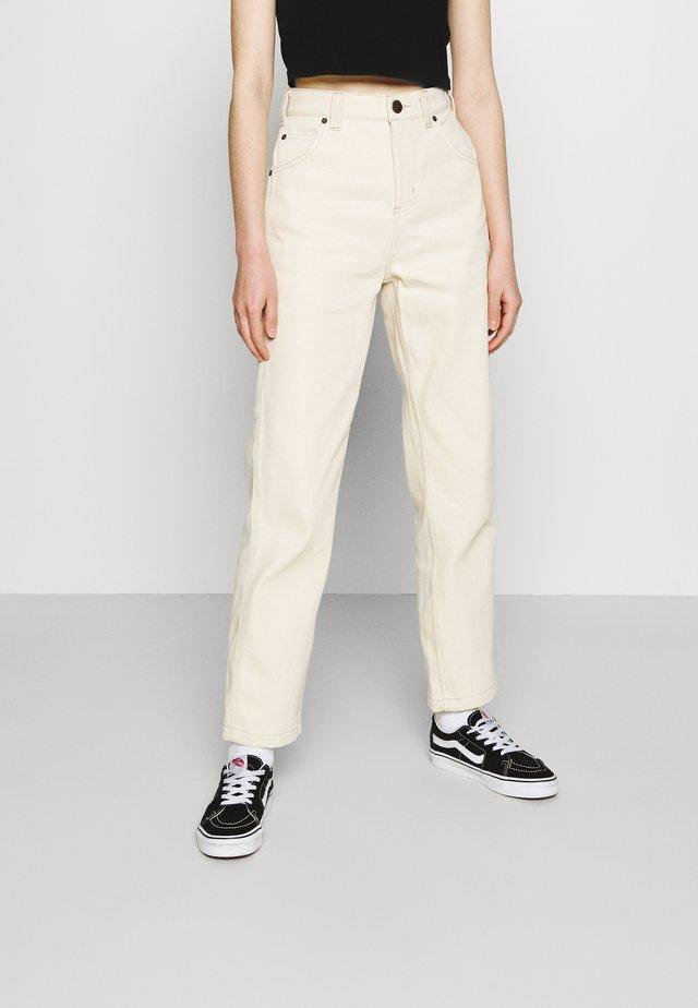 ELLENDALE - Jeans a sigaretta - ecru