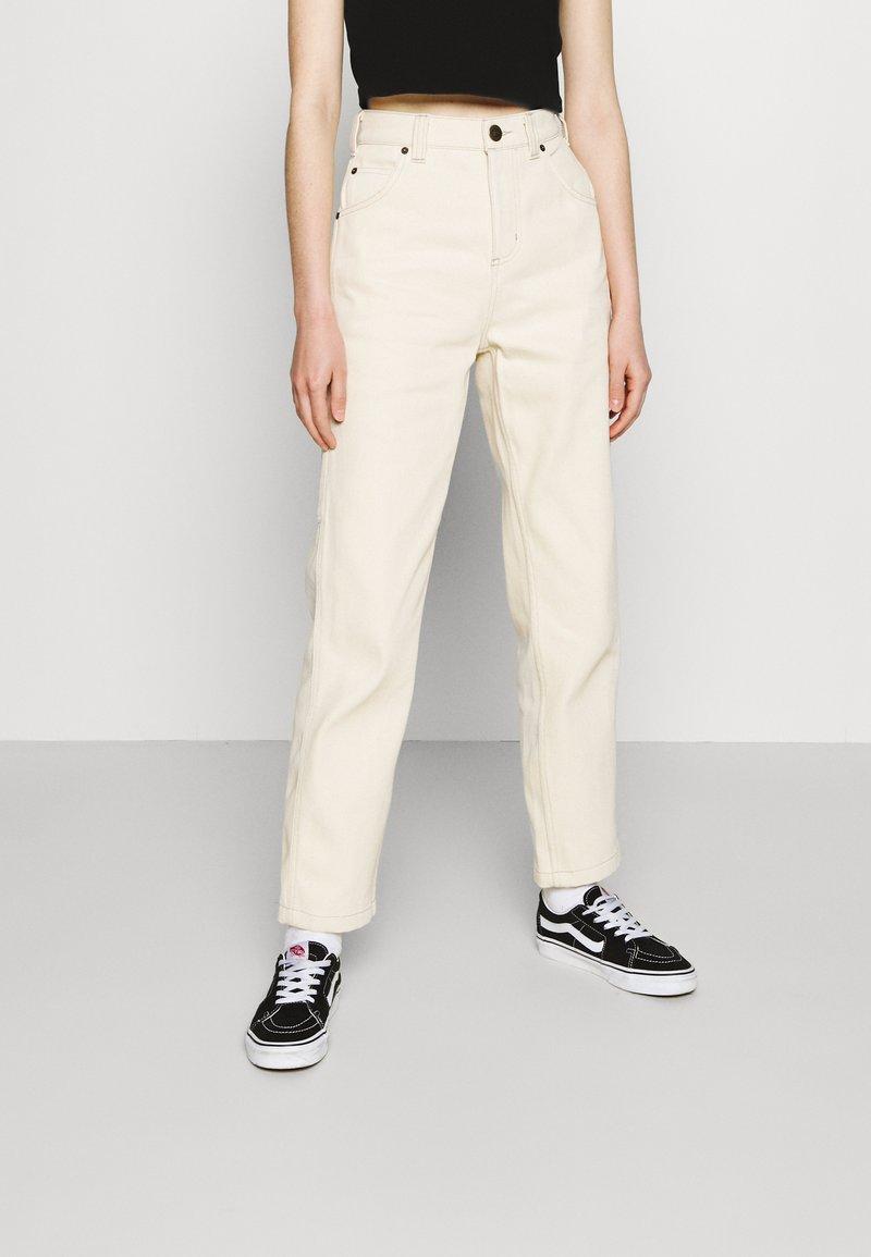 Dickies - Straight leg jeans - ecru