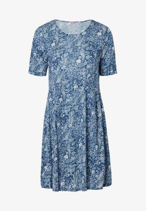INDISKA TUNIC NICOLINA - Jersey dress - blue