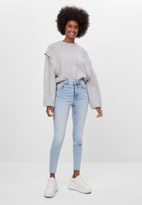 Bershka - Jeans Skinny Fit - blue denim - 1