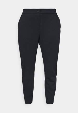 PANTS WITH SIDE PANELS - Trousers - sky captain blue