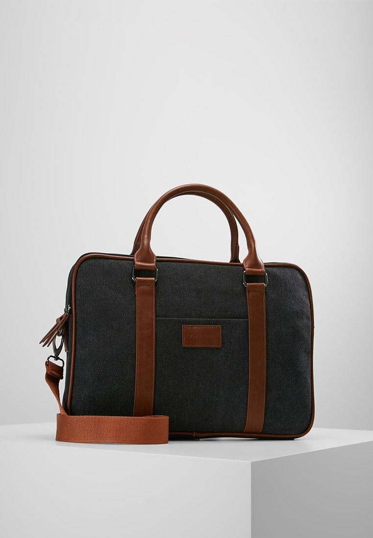 Pier One - Briefcase - black/brown