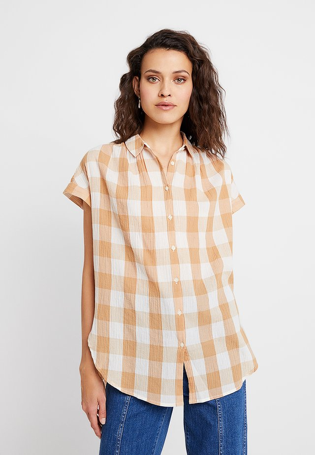 CENTRAL TUNIC - Camicia - bethany earthen sand