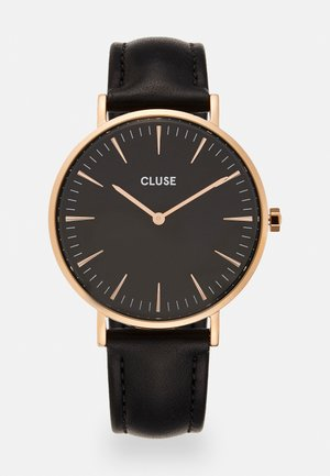 BOHO CHIC - Watch - rose gold-coloured/black