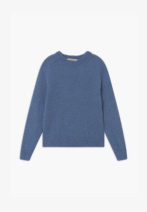 MAGLIA MIX - Jersey de punto - blue denim