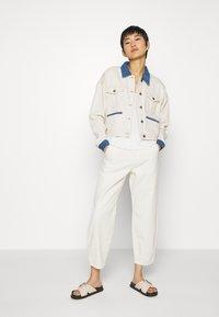 JUST FEMALE - SIKA JACKET - Jeansjakke - off white - 1