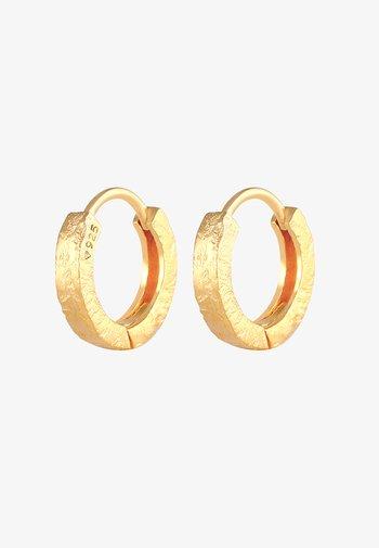 HOOPS BASIC SMALL - Earrings - gold