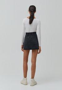 PULL&BEAR - A-line skirt - black - 2
