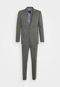 BISHAM SUIT - Suit - charcoal
