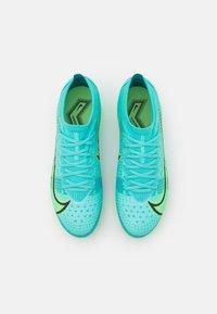 Nike Performance - MERCURIAL VAPOR 14 PRO FG - Kopačky lisovky - dynamic turqoise/lime glow - 3