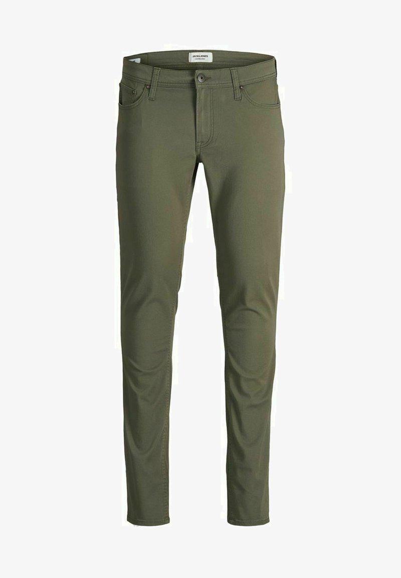 Jack & Jones - LIAM ORIGINAL - Jeans Skinny Fit - dusty olive