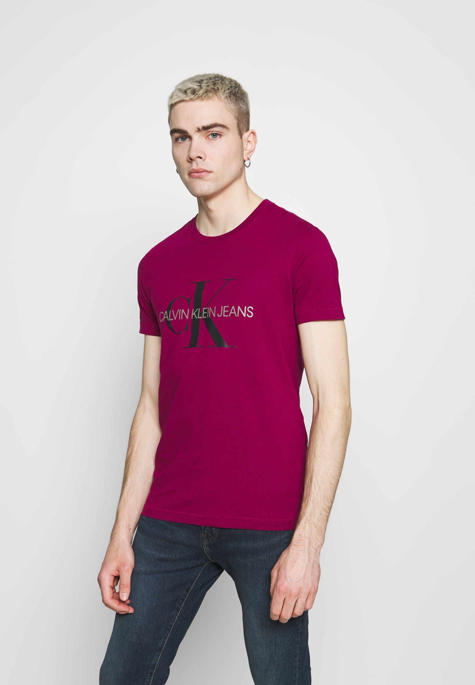 Men SEASONAL MONOGRAM TEE - Print T-shirt