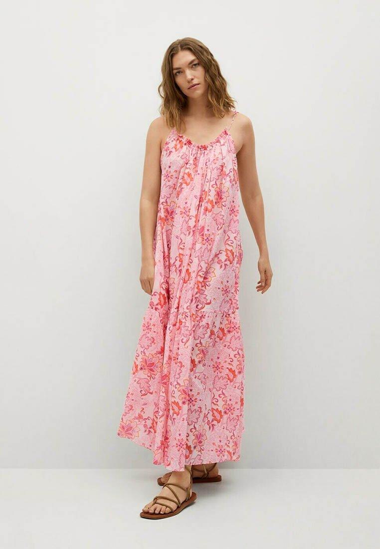 Mango - Maxi dress - rose