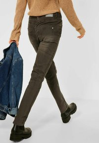 Cecil - CASUAL FIT - Trousers - braun - 2