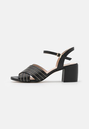 SLIM CHAIN AVE - Sandals - black