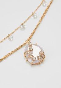 MAX&Co. - ADORARE - Necklace - white// light gold-coloured - 4