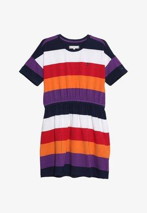 ESSENTIAL STRIPE DRESS  - Žerzejové šaty - multi