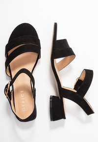 Office Wide Fit - MARIA WIDE FIT - Sandals - black - 3