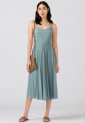 Jersey dress - aqua