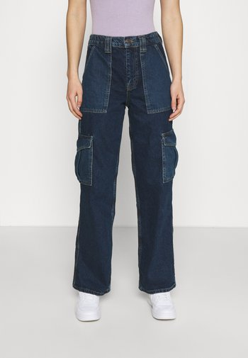 COLOURBLOCK SKATE - Jeans relaxed fit - dark vintage