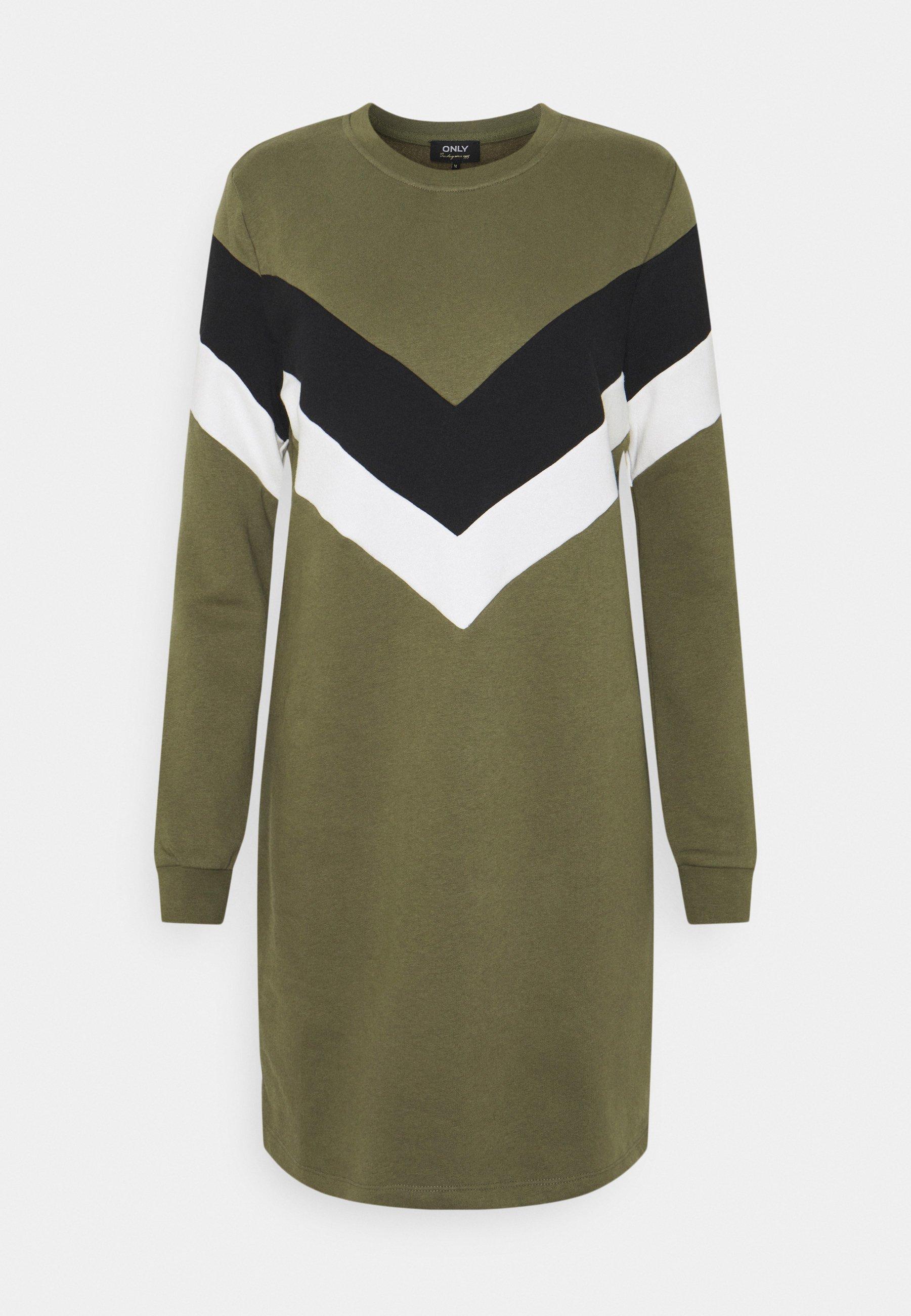 Women ONLDAKOTA O NECK DRESS - Day dress