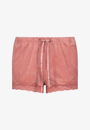 MIT SPITZE - Pyjama bottoms - pink