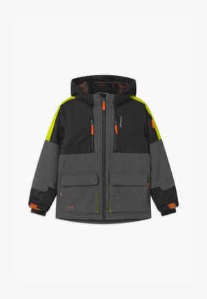 LANDRUM UNISEX - Snowboard jacket - lead grey
